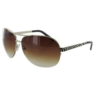 Guess Womens GUF219 Wire Rim Aviator Fashion Sunglasses