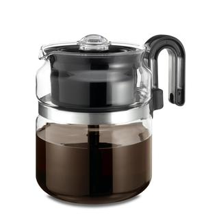 Wee's Beyond 18-cup Glass Stove Top Percolator