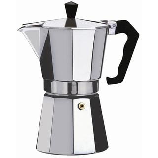 Brew-Fresh Silver Aluminum Large Espresso Maker