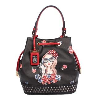 Nicole Lee Betty Print Bucket Bag