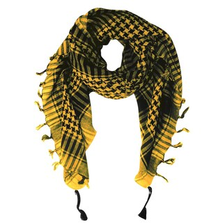 Peach Couture Unisex 100-percent Cotton Tactical Military Shemagh Keffiyeh Scarf