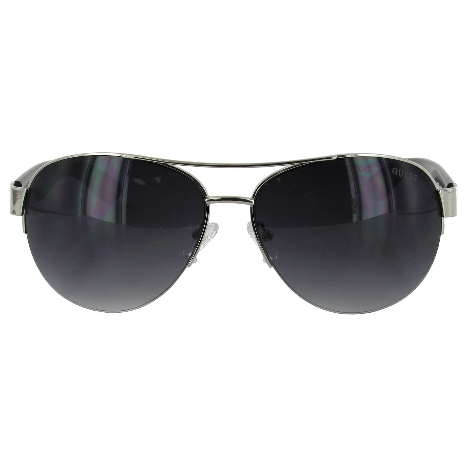 Guess Womens GF0288 Semi Rimless Wire Frame Fashion Sunglasses
