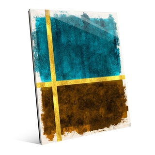 Gold Division Multicolored Acrylic Wall Art
