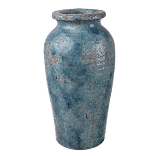 Clay 6.5-inch by 12.5-inch Vase