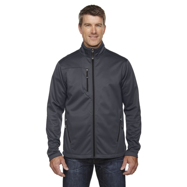 Trace Printed Fleece Mens Carbon 456 Jacket