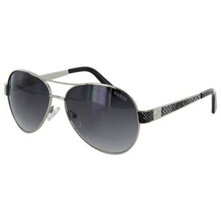 Guess Womens GF0290 Wire Rim Aviator Fashion Sunglasses
