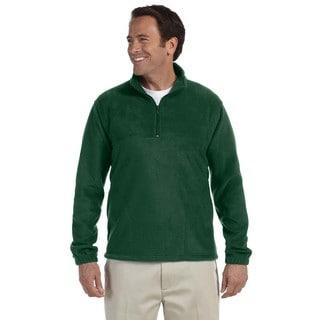 Quarter-Zip Men's Fleece Pullover Hunter Sweater