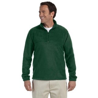 Quarter-Zip Men's Fleece Pullover Hunter Sweater