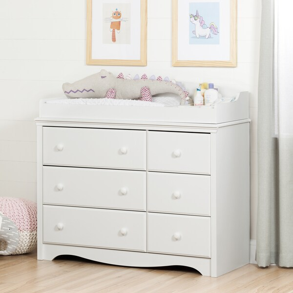 South Shore Angel 6 Drawer Dresser And Changing Table