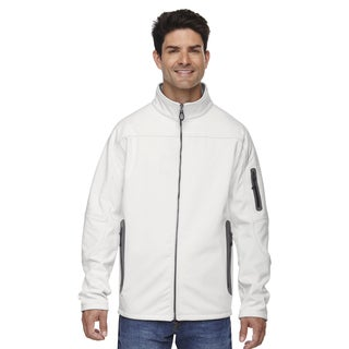 Three-Layer Fleece Bonded Soft Shell Technical Men's Big and Tall Crystal Qrtz 695 Jacket (As Is Item)