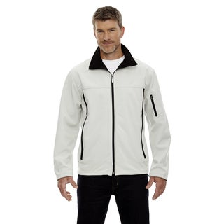 Three-Layer Fleece Bonded Men's Performance Soft Shell Men's Natrl Stone 820 Jacket