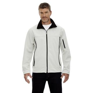 Three-Layer Fleece Bonded Men's Performance Soft Shell Men's Natrl Stone 820 Jacket