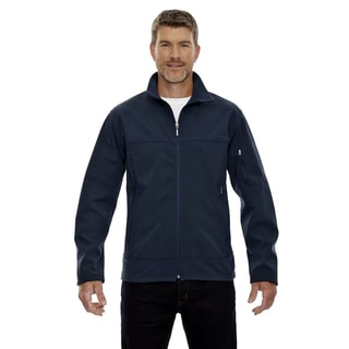 Three-Layer Fleece Bonded Men's Big and Tall Performance Soft Shell Men's Big and Tall Midnight Navy 711 Jacket