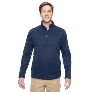 Task Men's Performance Fleece Full-Zip Men's Dark Navy Jacket