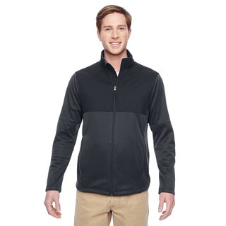 Task Men's Big and Tall Performance Fleece Full-Zip Men's Big and Tall Dark Charcoal Jacket