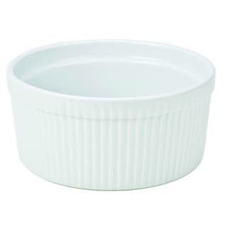 Bia Cordon Bleu Inc 900016 1 Quart White Porcelain Souffle Bowl