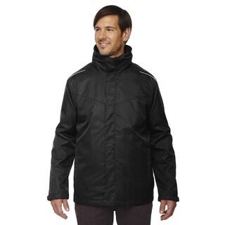 Tall Region 3-In-1 Men's With Fleece Liner Black 703 Jacket