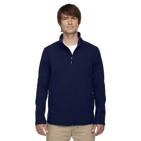 Tall Cruise Two-Layer Fleece Bonded Soft Shell Men's Big and Tall Classic Navy 849 Jacket