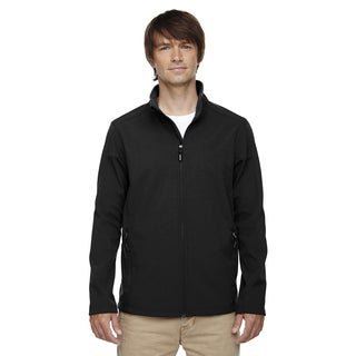 Tall Cruise Two-Layer Fleece Bonded Soft Shell Men's Big and Tall Black 703 Jacket (4 options available)