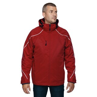 Tall Angle 3-In-1 Men's Classic Red 850 Jacket With Bonded Fleece Liner