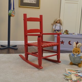 Big Kids Red Rocking Chair