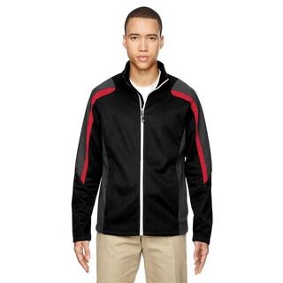 Strike Colorblock Fleece Men's Black/Classic Red 874 Jacket