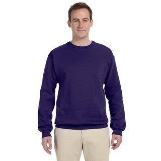 50/50 Nublend Fleece Men's Crew-Neck Deep Purple Sweater