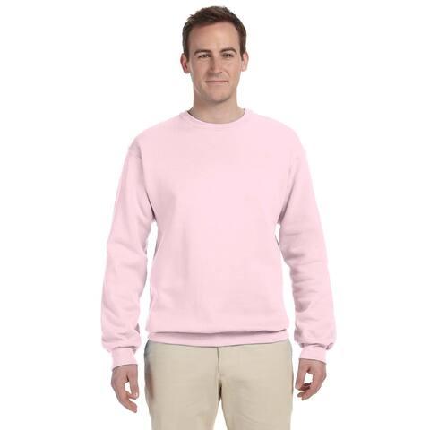 50/50 Nublend Fleece Men's Crew-Neck Classic Pink Sweater