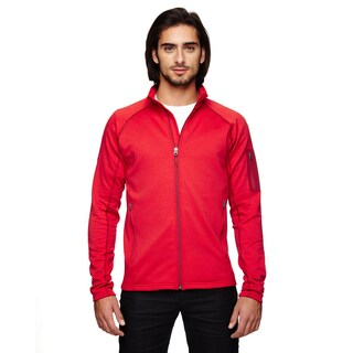 Stretch Fleece Men's Team Red Jacket
