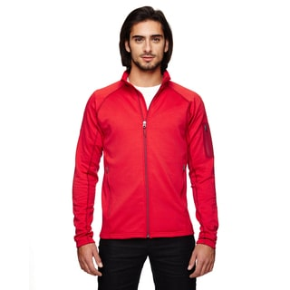 Stretch Fleece Men's Big and Tall Team Red Jacket