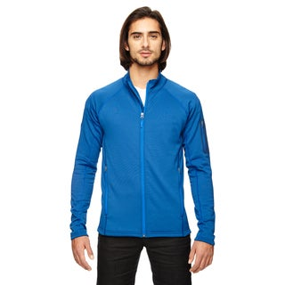 Stretch Fleece Men's Big and Tall Blue Sapphire Jacket