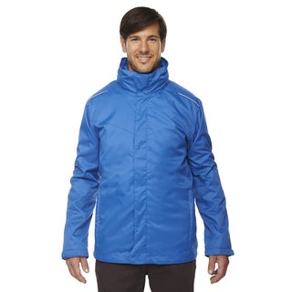 Region 3-In-1 Men's Big and Tall True Royal 438 Jacket with Fleece Liner