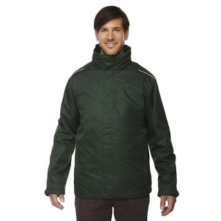 Region 3-In-1 Men's Big and Tall Forest Gren 630 Jacket with Fleece Liner