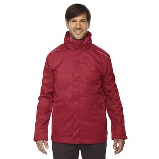 Region 3-In-1 Men's Classic Red 850 Jacket with Fleece Liner