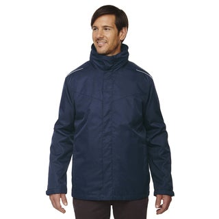 Region 3-In-1 Men's Big and Tall Classic Navy 849 Jacket with Fleece Liner