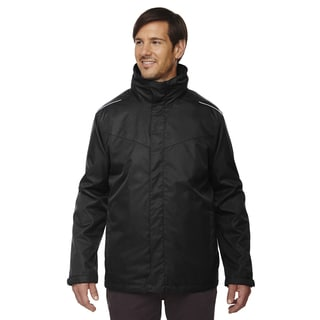 Region 3-In-1 Men's Big and Tall Black 703 Jacket with Fleece Liner