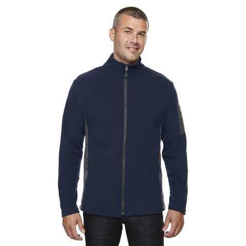 Microfleece Men's Big and Tall Midnight Navy 711 Jacket