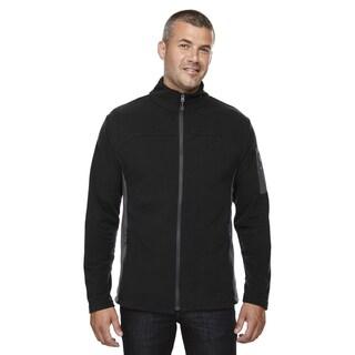 Microfleece Men's Big and Tall Black 703 Jacket