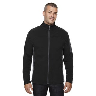 Microfleece Men's Big and Tall Black 703 Jacket
