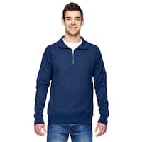 Quarter-Zip Men's Vintage Navy Sweater