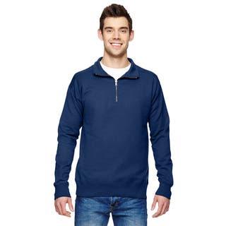 Quarter-Zip Men's Vintage Navy Sweater
