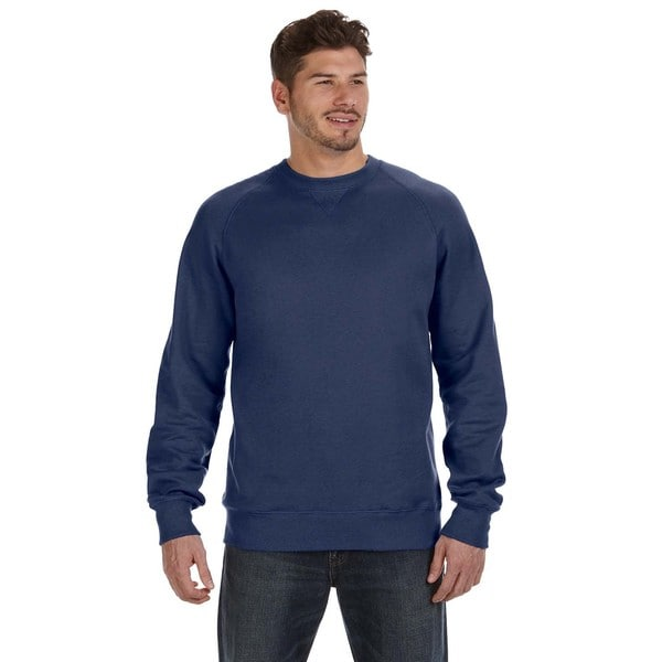 Nano Mens Crew-Neck Vintage Navy Sweater
