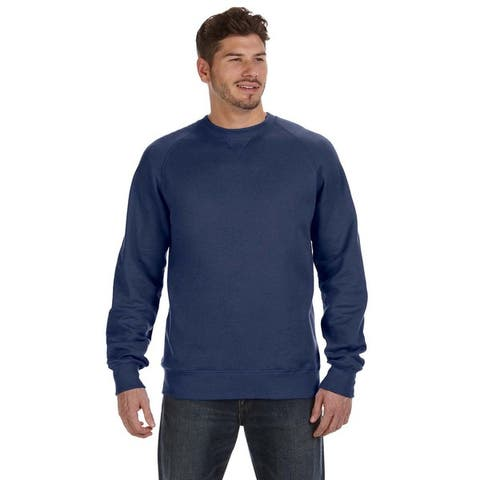 Nano Men's Crew-Neck Vintage Navy Sweater