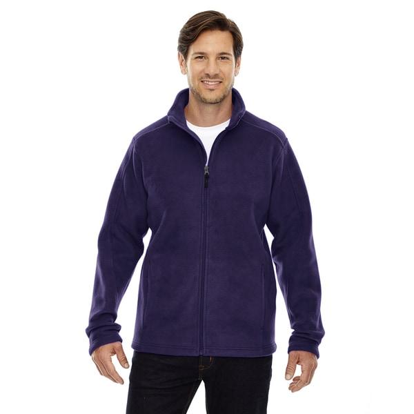 Journey Fleece Mens Campus Purple 427 Jacket