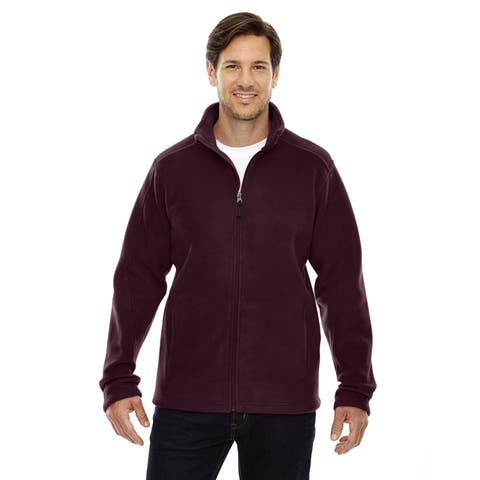 Journey Fleece Men's Big and Tall Burgundy 060 Jacket