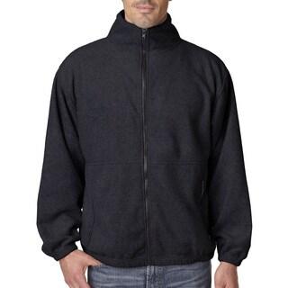 Iceberg Fleece Full-Zip Men's Black Jacket