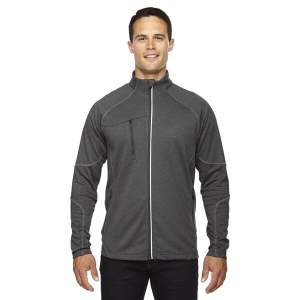 Gravity Mens Performance Fleece Mens Carbon Heath 452 Jacket