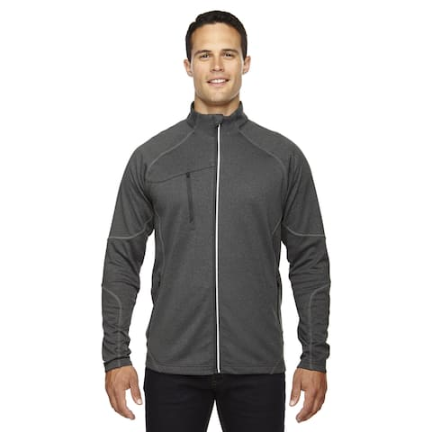 Gravity Men's Big and Tall Performance Fleece Men's Big and Tall Carbon Heath 452 Jacket