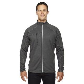 Gravity Men's Big and Tall Performance Fleece Men's Big and Tall Carbon Heath 452 Jacket
