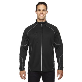 Gravity Men's Big and Tall Performance Fleece Men's Big and Tall Black 703 Jacket